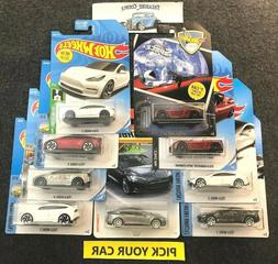 Hot Wheels / Matchbox TESLA - Pick your CAR * Model X Model
