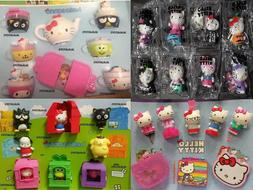McDonald's HELLO KITTY 2019, 2018 & 2015 & HELLO SANRIO 2016