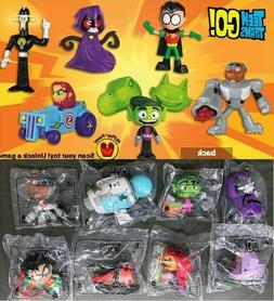 McDonald's 2019 & 2017 TEEN TITANS GO! - PICK YOUR TOY- BUY