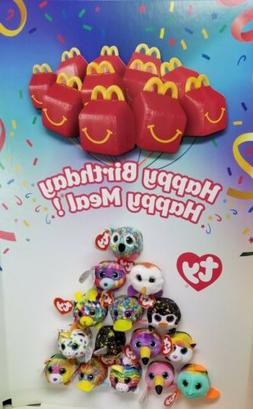 MCDONALD'S 2019 TY TEENIE TEENY TOYS. SET OF 12 TOYS. SHIPPI