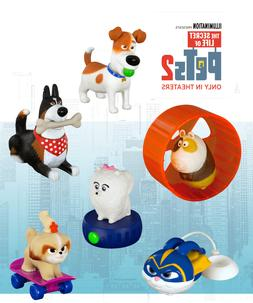 McDonalds 2019 Secret Life of Pets 2 Happy Meal Toy -Brand N
