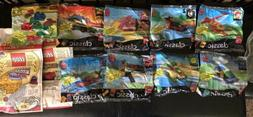 McDonalds Happy Meal Toys Complete Lot Of 1999 Lego Classic