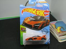 McLaren Senna #162 Orange Exotics 2019 Hot Wheels Case N