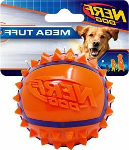 mega tuff tpr spike ball dog toy