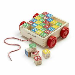 Melissa & Doug Classic ABC Block Cart Educational Toy