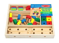 Melissa & Doug Construction Set in Box #5151 Brand New