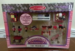 Melissa & Doug Dollhouse Nursery Accessories Set Toys for AG