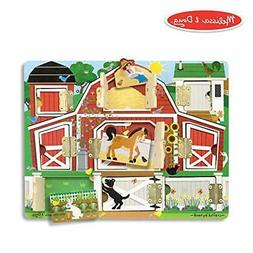 Melissa & Doug Hide & Seek Farm (Developmental Toys, Magneti