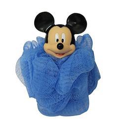 Disney Mickey Mouse Bath Pouf, Blue