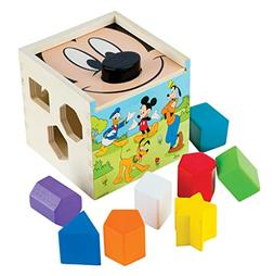 Melissa & Doug Mickey Mouse & Friends Wooden Shape Sorting C