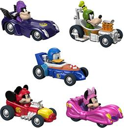 NEW! Disney Mickey and the Roadster Racers Hot Rod 5 Pack -