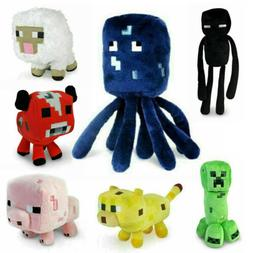 Minecraft Plush Toy Kids Gift Children Stuffed Animal Soft P