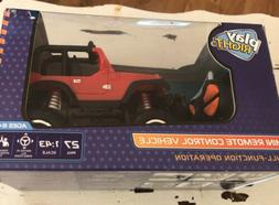 Play Right Mini Remote Control Jeep Toy Vehicle Ages 6+ Kids
