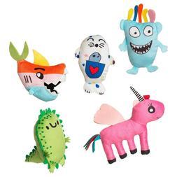 Mini Stuffed Animals IKEA Soft Toys A Set of 5 Plush Animals