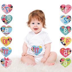 Disney Baby Girls Minnie Mouse Monthly Milestone Photo Prop