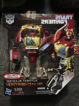 Misb Transformers Fall of Cybertron Autobot BLASTER + Steelj