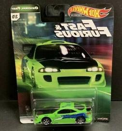 Hot Wheels Mitsubishi Eclipse Fast and Furious GBW75-956B 1/