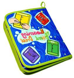Yoovi Montessori Learn to Dress Boards Toys Quiet Book - Zip
