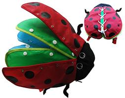 zhenyu Montessori Learn to Dress Toys Ladybug Plush Toys - Z