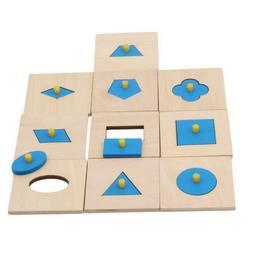 Montessori Materials Insets Shape Puzzles Toddler Preschool