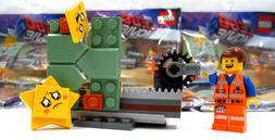 Lego Movie 2 Emmet Minifigure Set #30620, Exclusive Star Stu