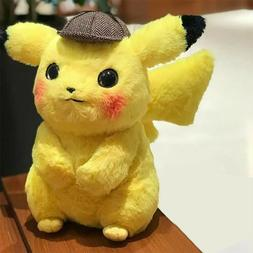 Movie Pokémon Detective Pikachu Lovely Plush Stuffed Doll T