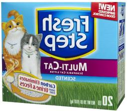 Fresh Step Multi-Cat with Febreze Freshness, Clumping Cat Li