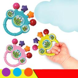 Baby Musical Toys - Hand Bell Developmental Toy by Coerni