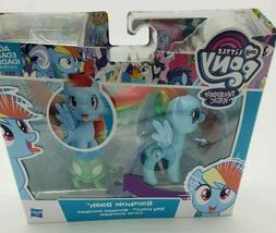 Hasbro My Little Pony Rainbow Dash Silly Looks Toy New