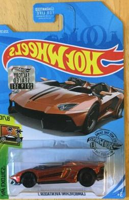 Hot Wheels New 2019 Super Treasure Hunt Lamborghini Aventado