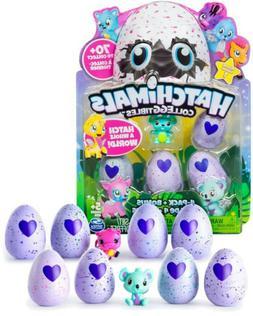 NEW 2x 4-Pack Hatchimals CollEGGtibles Hatching Eggs +Bonus