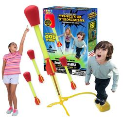 NEW 4 Ultra Outdoor Stomp Rocket Toy Gift for Boys and Girls