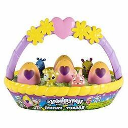 New Hatchimals 6041272 Spring Basket A Plush-Interactive-Toy