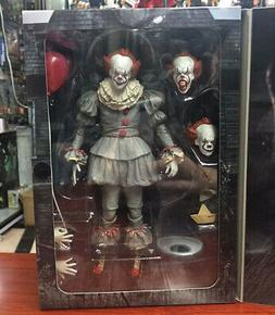 "New 7"" NECA IT Ultimate Pennywise Clown Action Figure Movie"