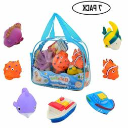 NEW Bath Time Water Squirting Animal Floating Toys for Toddl