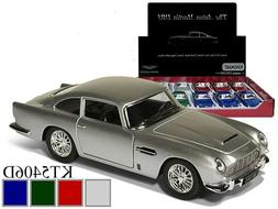 "New Kinsmart Diecast Car 5"" Aston Martin DB5  *CHOOSE A COLO"
