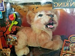 New FurReal Disney The Lion King Mighty Roar Simba Interacti