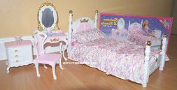 NEW GLORIA DOLL HOUSE FURNITURE Victorian Beauty Bedroom