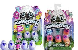 NEW Hatchimals CollEGGtibles TWO 4-Pack Eggs + Bonus Figure