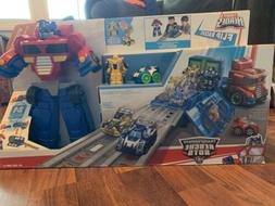 NEW Playskool Heroes Rescue Bots Transformers Optimus Prime