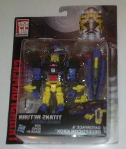 New in Box Transformers Titans Return Gatorface & Decepticon