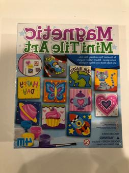 New 4M Magnetic Mini Tile Art