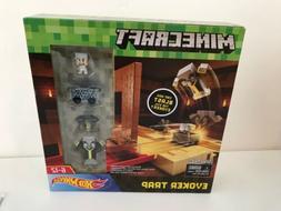 NEW Mojang Mattel Minecraft Hot Wheels Hotwheels Evoker Trap