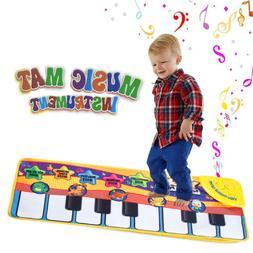 New Musical Music Kid Piano Play Baby Mat Animal Educational