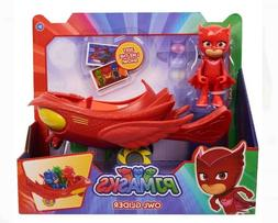 New PJ Masks Vehicle Owl Glider & Owlette Figure Toy Set