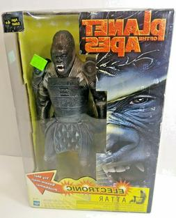 NEW HASBRO PLANET OF THE APES MOVIE 12 INCH ELECTRONIC ATTAR