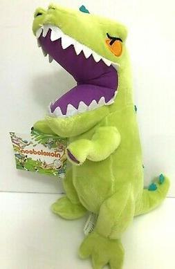 "New Rugrats 11"" Reptar Plush Dinosaur Nickelodeon Stuffed An"