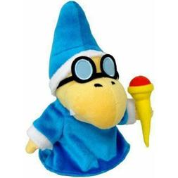 "New Super Mario Magikoopa Kamek Plush 7"" Stuffed Animal Magi"