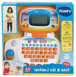 NEW VTech Tote and Go Laptop Educational Kids Toy Learning A