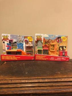 New Disney Pixar Toy Story Andy's Room & Western Adventure S